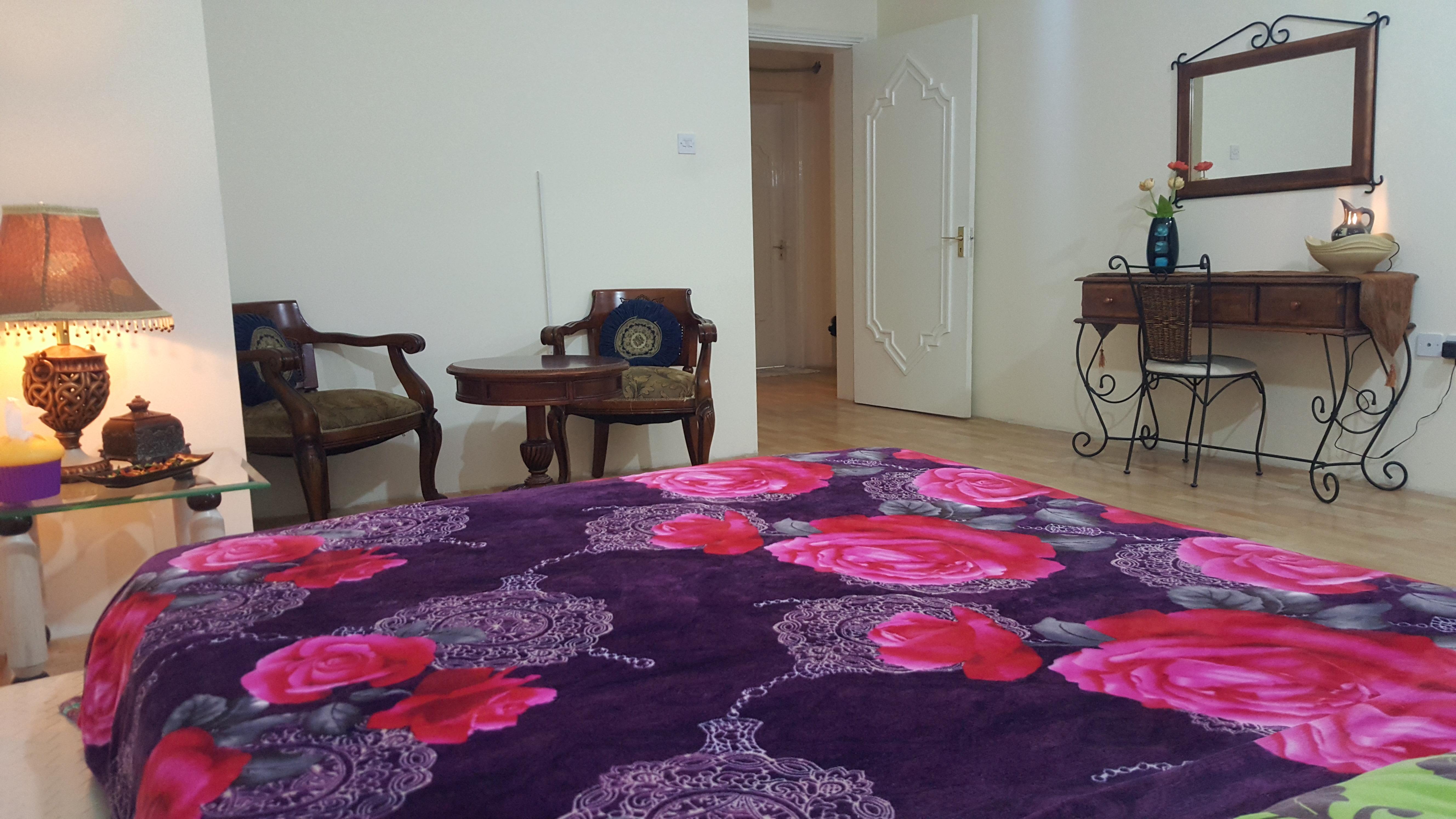 super nice fully furnished bachelor room for rent matar qadeem