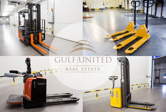 Approved Cold Stores for food items, including racking & utilities | Industrial Area