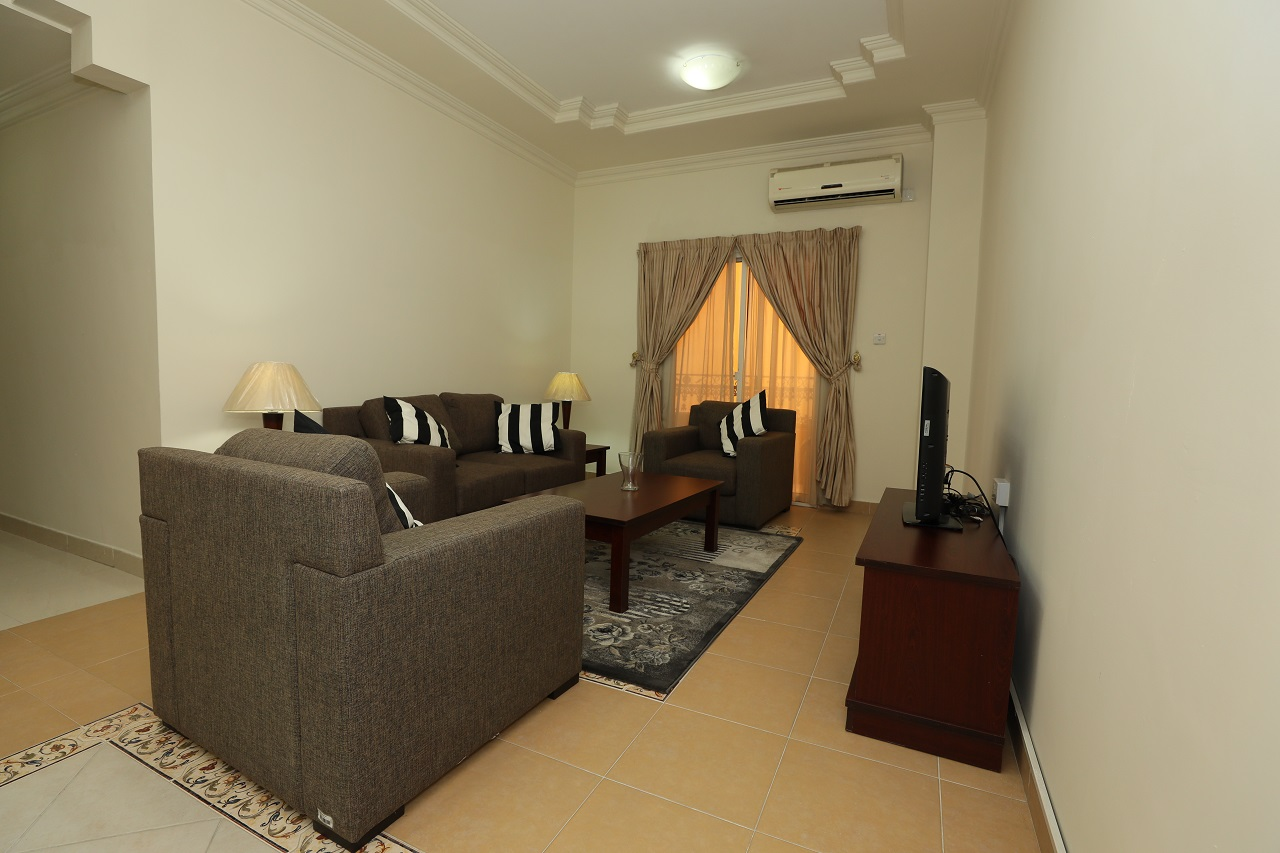 1 Month Rent Free!Fully Furnished 2 Bedroom Apartment