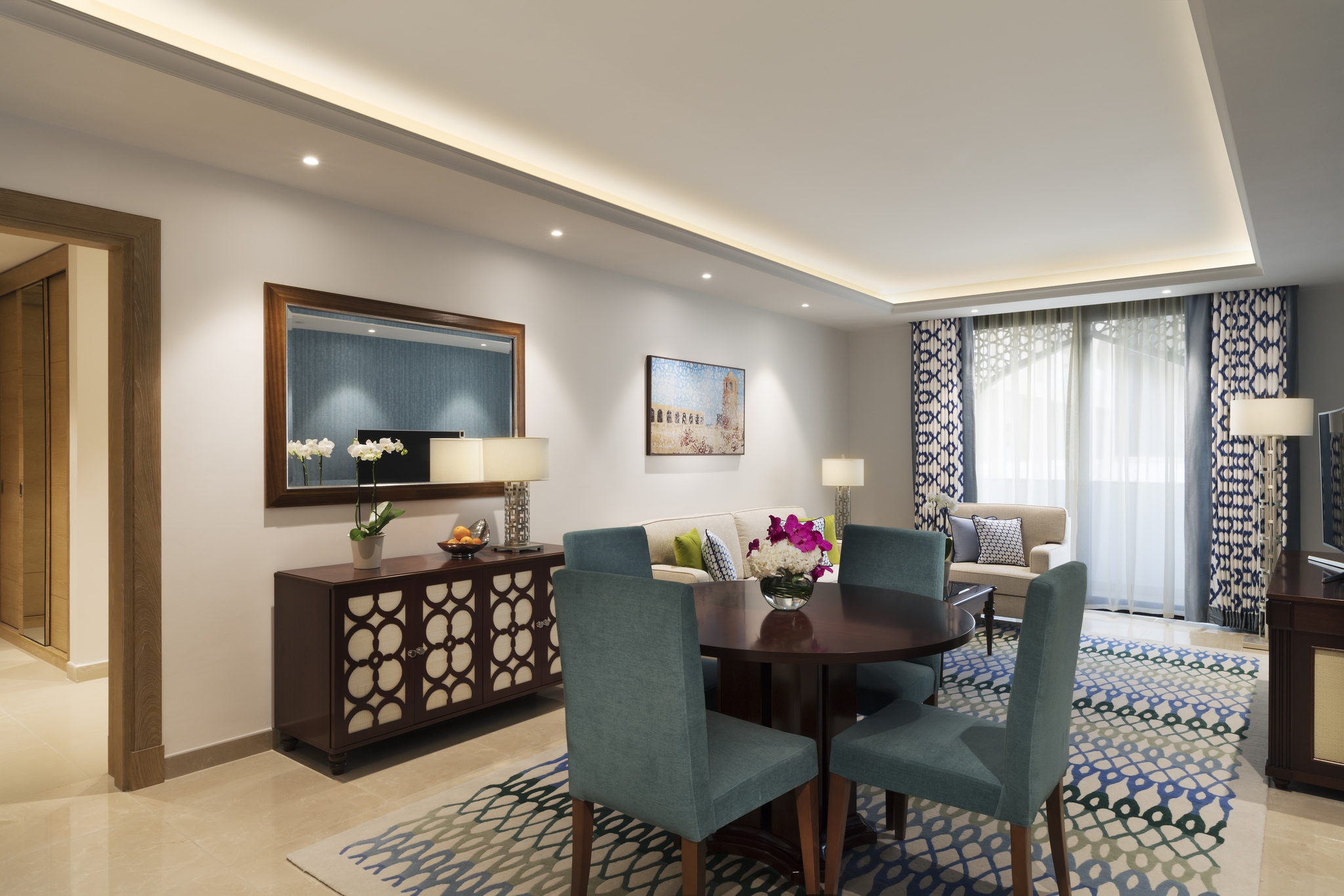Deluxe Two Bedroom - Al Najada Hotel Apartment by OAKS