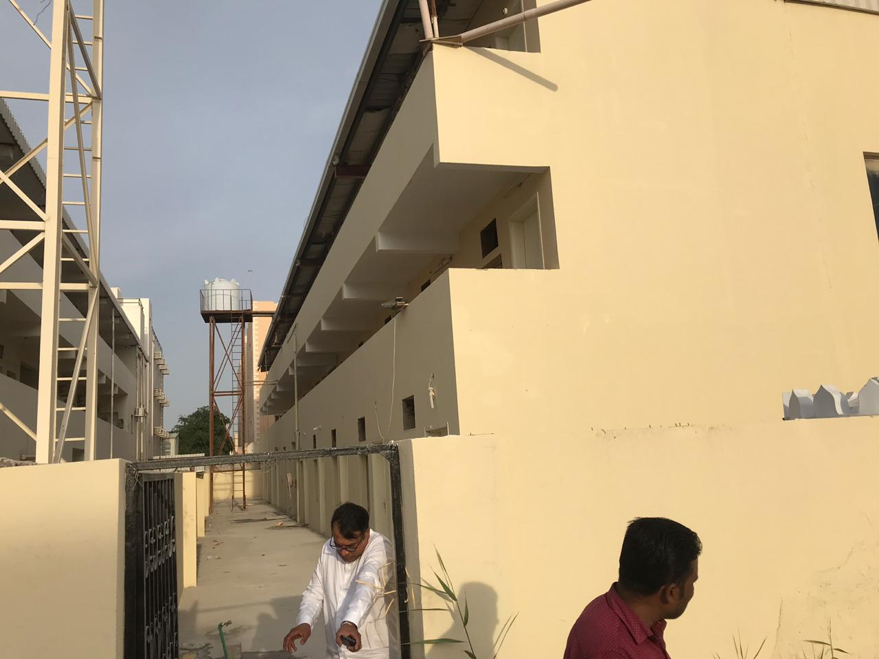 New Labor Camp at Industrial Area For Labour Accommodation ST 47