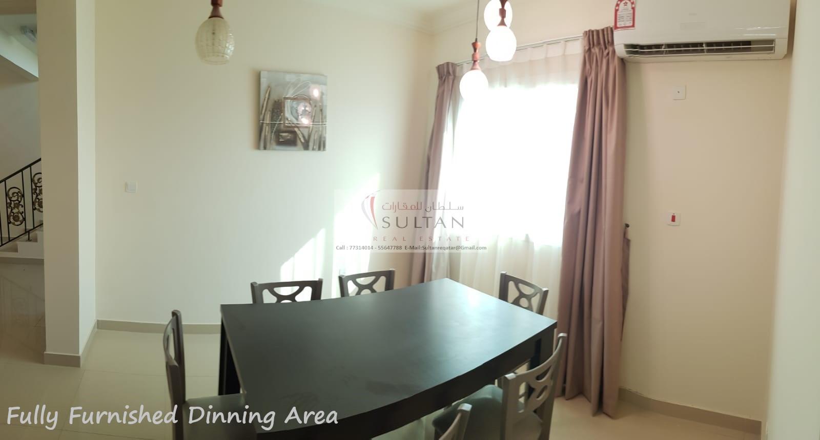 اول ساكن بام صلال علي مفروش  - 4bhk villa umm salal