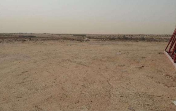 Land for rent at Muaither junoob (open yard)