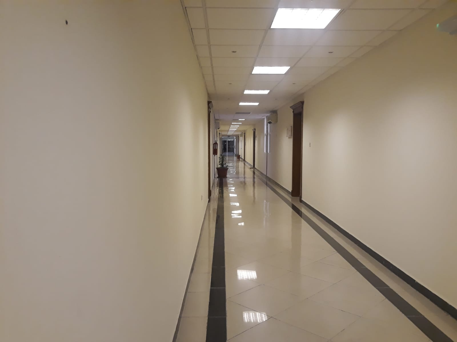 115 SQM Office space - 4 Rooms Partitioned Office in C Ring Road