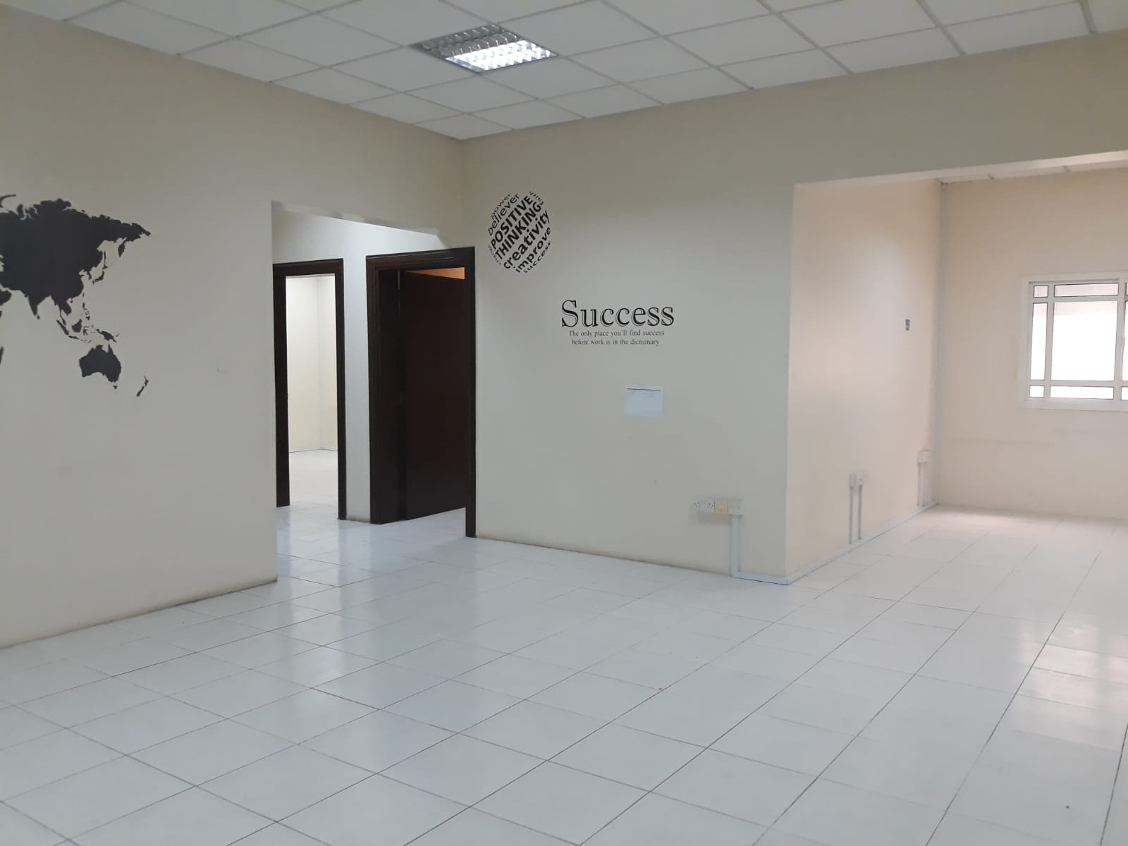 2 months free 3 Rooms Office in Alsadd