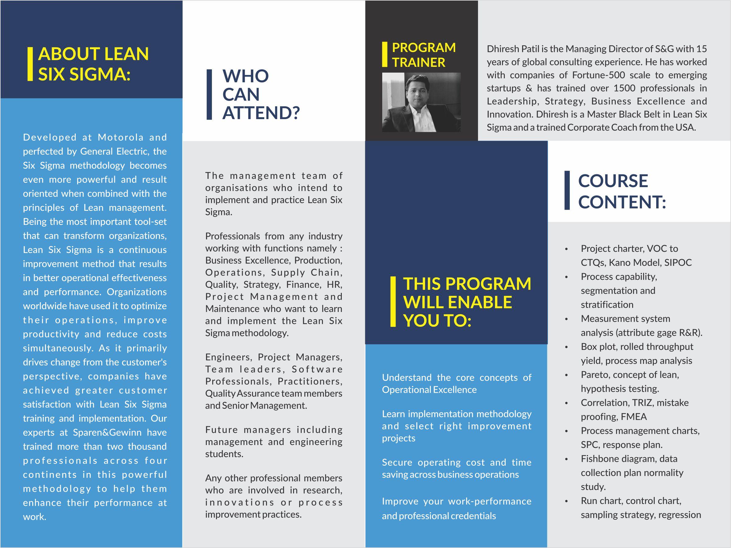 Lean Six Sigma Green Belt Certification Qatar Living Events
