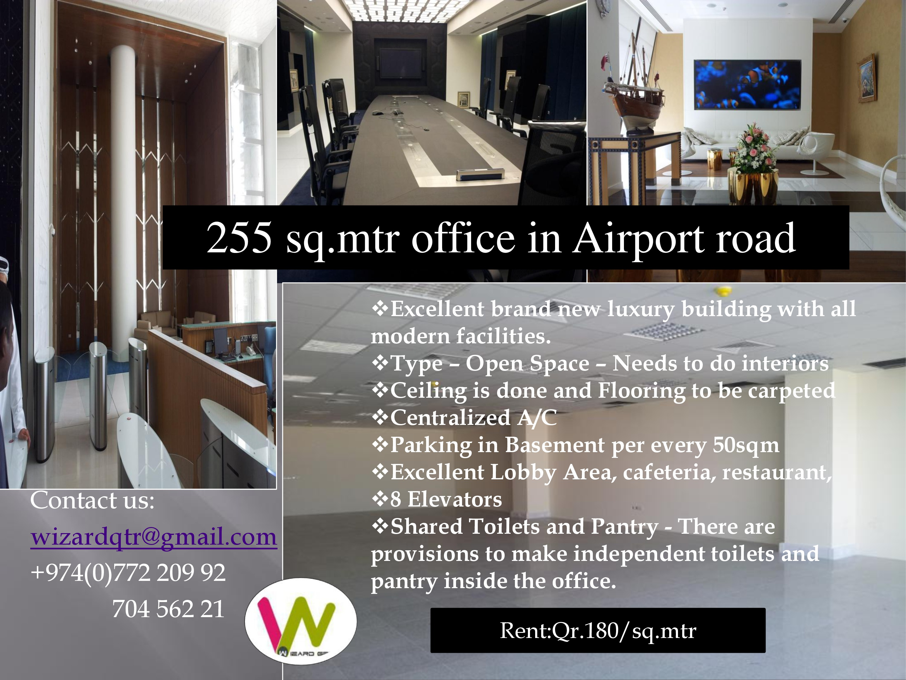 0813292bba9 255 sq.mtr luxurious office space in an elegant building