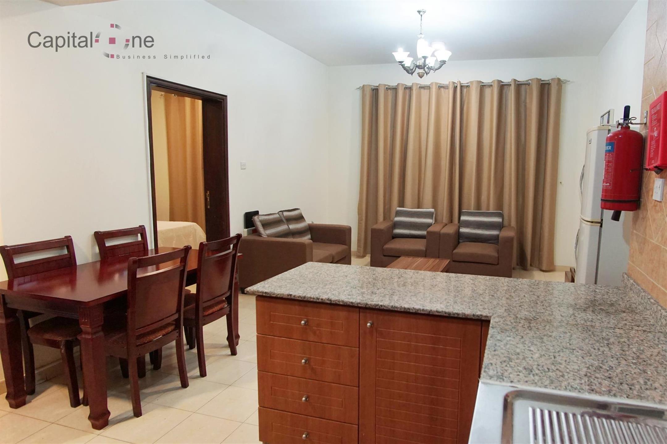 FF 1BHK in the Heart of Doha (nearby the Metro Station)
