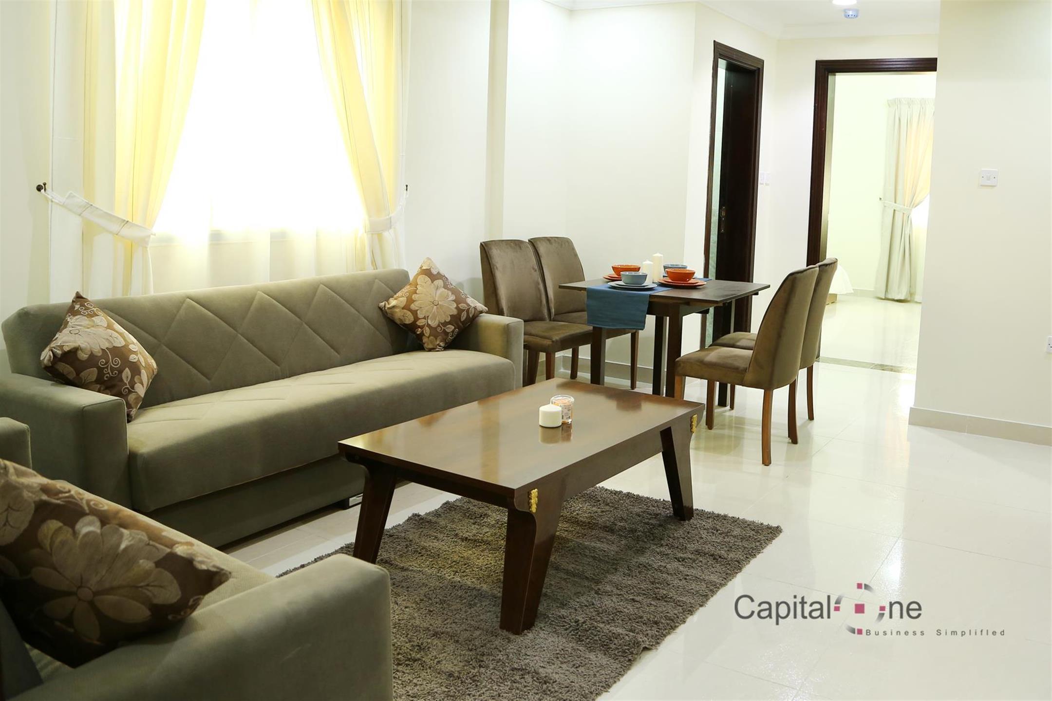 Luxuriously Furnished 1 BR Apartment│Umm Ghuwailina