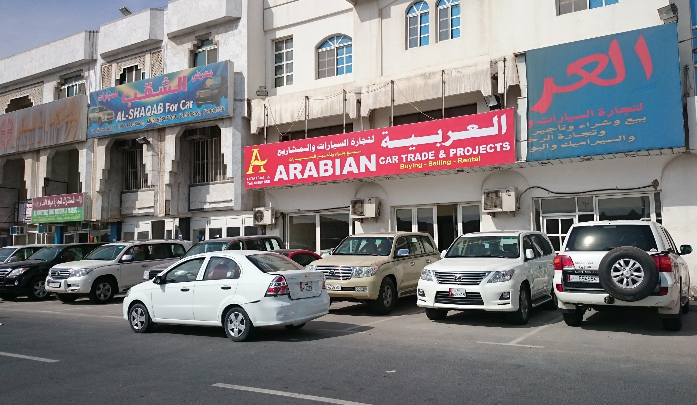 Sales drop for Qatar s second hand car dealers