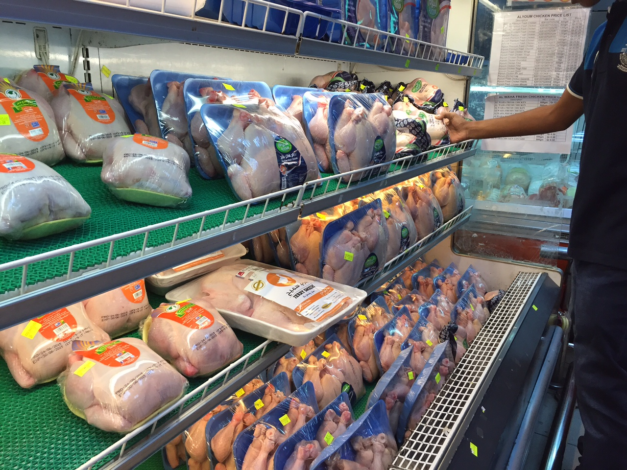 Prices of food items in Qatar to increase only marginally