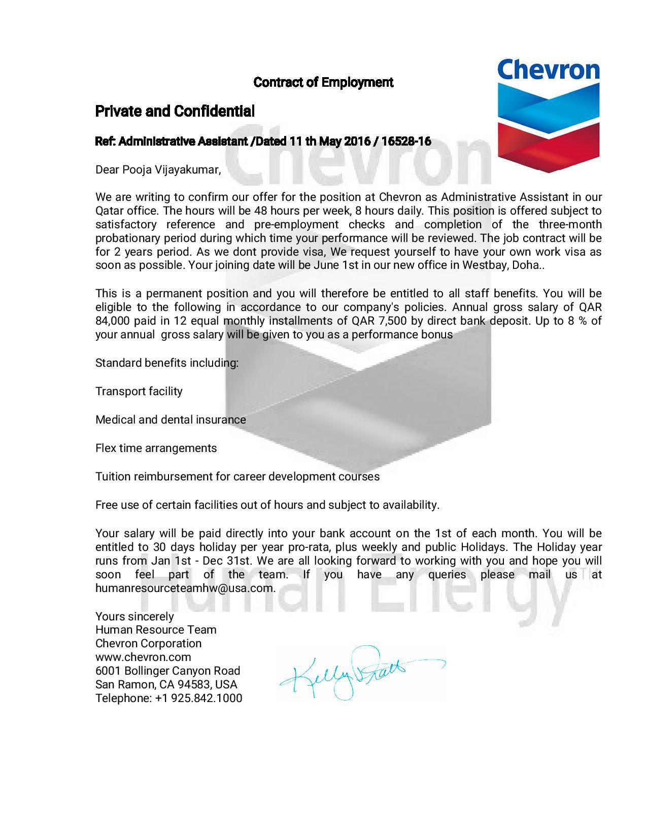 False offer letter qatar living false offer letterg altavistaventures Gallery