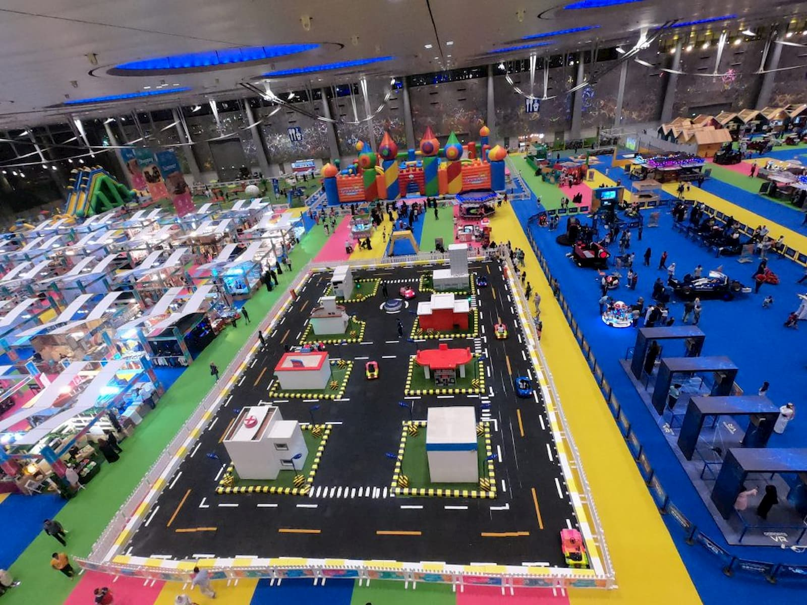This is an image of the driving school for kids at Summer Entertainment City.