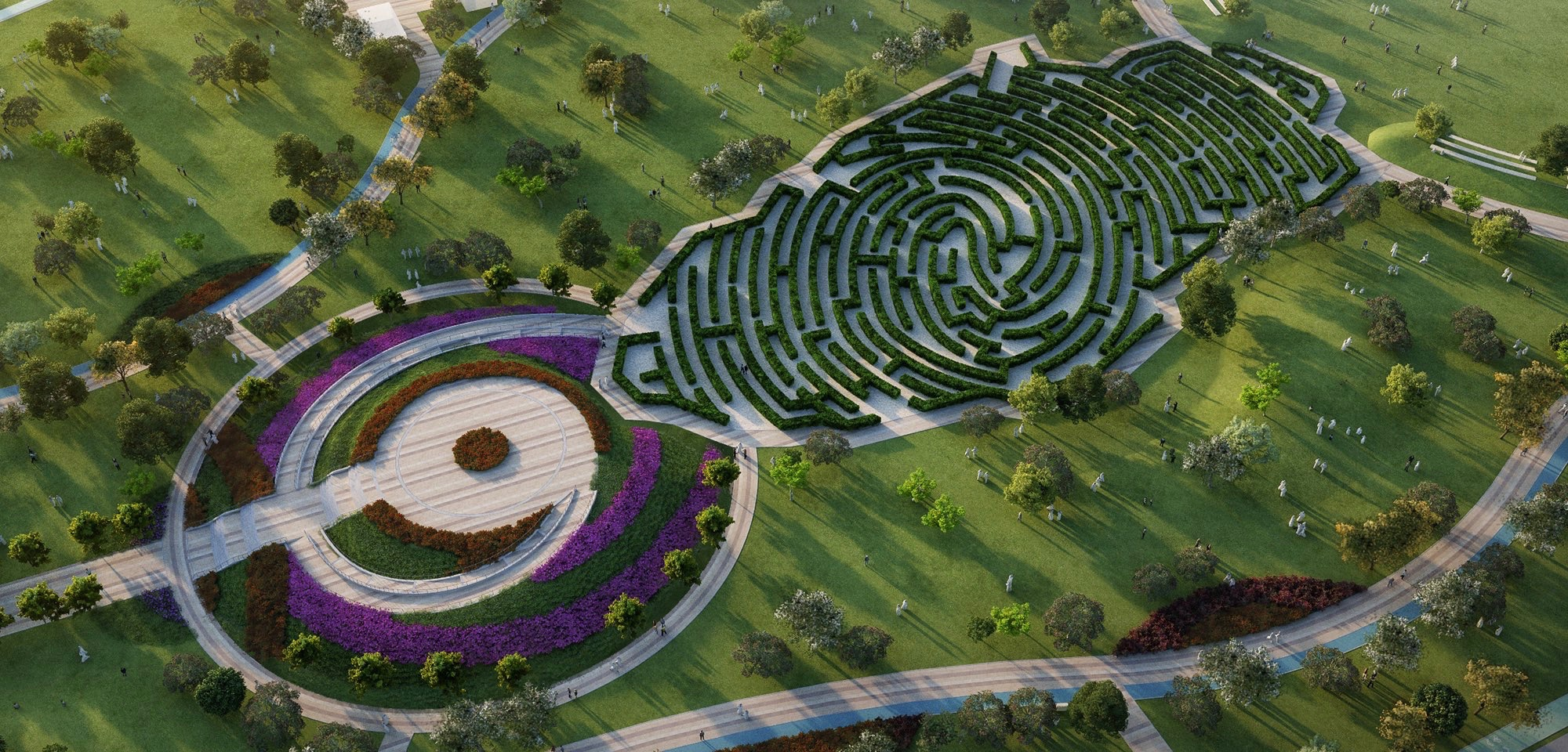 Ashghal announces completion of main works of 5/6 Park project   Qatar Living