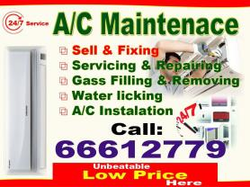 Split A/C available servicing,repairing, selling.l