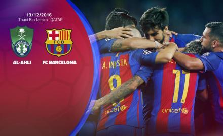 FC Barcelona to play friendly in Qatar against Al Ahli Saudi FC