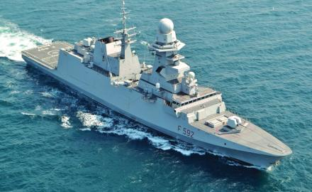 Italy's naval frigate to temporarily dock at Doha Port