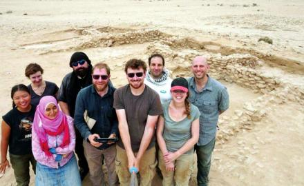 In a huge discovery, research team unearths the country's earliest Islamic period site