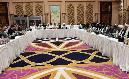 Marathon talks between the US and the Taliban in Doha make substantial progress