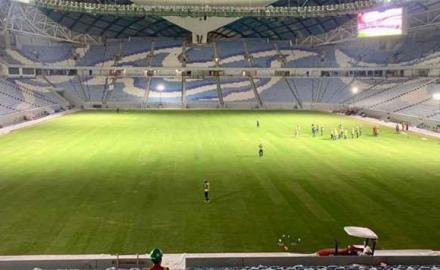 New world record for Qatar as turf laying of Al Wakrah Stadium completes