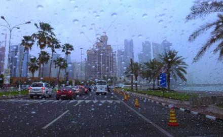 Heavy rains to continue in most parts of Qatar today: Met Department