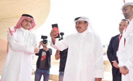 Qatar makes region's first 5G phone call
