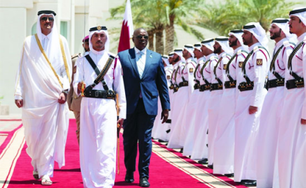 HH the Amir, Botswana President discuss ways to boost ties