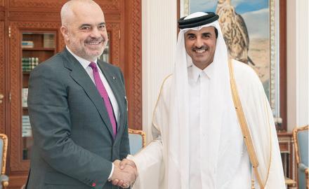 Qatar, Albania vow to enhance bilateral ties