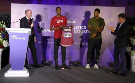 Qatar hosts world's largest athletics exhibition