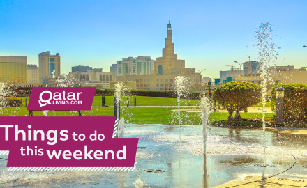 Things to do in Qatar this weekend: April 25-27