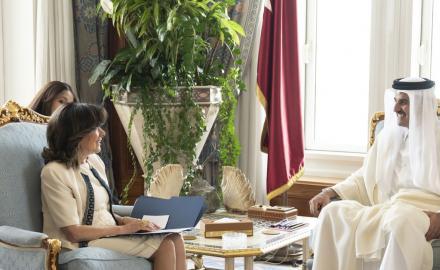 President of the Italian Senate stresses on lifting of Qatar blockade