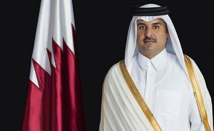 HH the Amir exchanges Ramadan greetings with leaders of Arab, Islamic countries