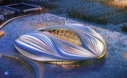 Al Wakrah Stadium all set for grand opening this Thursday