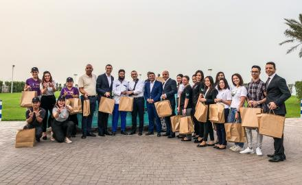 Marriott International celebrates 10th Annual 'IFTAR FOR CABS' initiative in Qatar