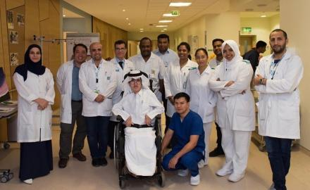 Young Qatari patient recognizes HMC clinical teams for nurturing his artistic talent