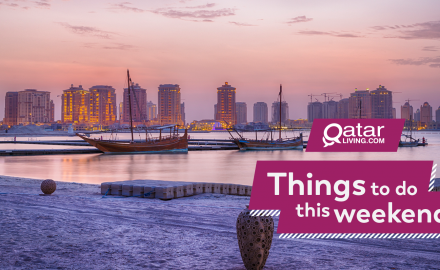 Things to do in Qatar this weekend: June 13-15