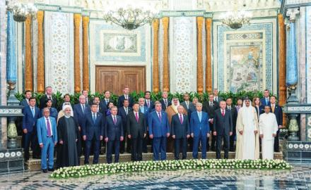 HH the Amir holds talks with world leaders in Dushanbe