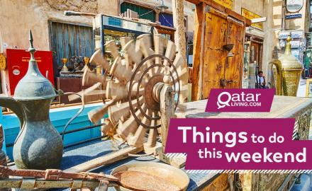 Things to do in Qatar this weekend: June 20-22