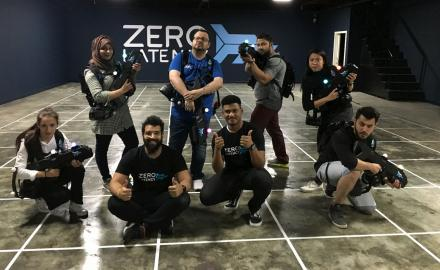 WATCH: QL Adventures comes head-on with zombies at Zero Latency
