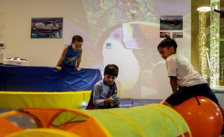 Al Janoub Stadium's innovative sensory room proves a success