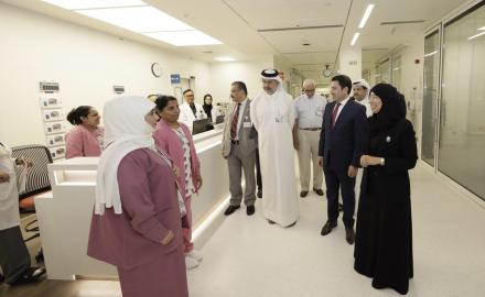 Minister of Public Health inaugurates expanded SICU at Hamad General Hospital