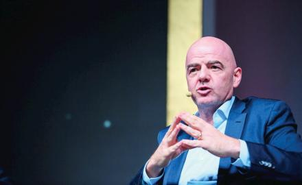 FIFA President lauds Qatar's preparations for 2022 World Cup
