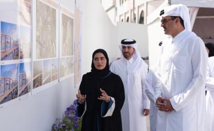 HH the Amir visits Doha Central Development Project
