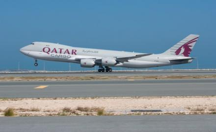Qatar Airways Cargo planes depart for China with medical aid