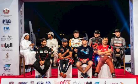 Manateq Qatar Cross-Country Rally gets underway at Souq Waqif
