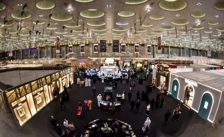 Doha Jewelry & Watches Exhibition opens