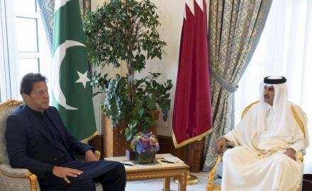HH the Amir, PM of Pakistan hold official talks