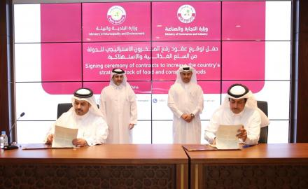 Qatar inks deals to increase strategic stock of food and consumer goods