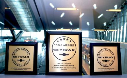 HIA named best airport in the Middle East, third best in the world by SKYTRAX
