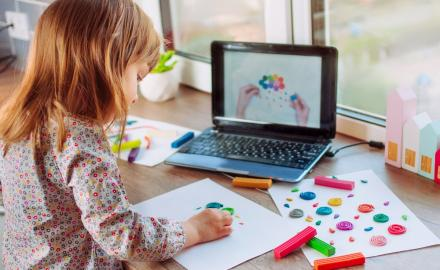 WATCH: Online activities for children to keep them entertained at home